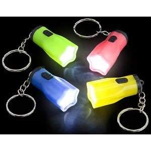 Star Flashlight Keychain