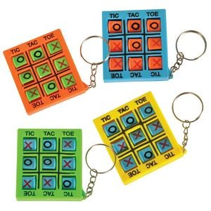 Pocket Tic-Tac Toe Keychain