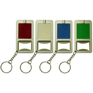 LED Bottle Opener Key Chain